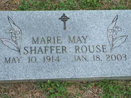 SHAFFER ROUSE, MARIE MAY - Washington County, Arkansas | MARIE MAY SHAFFER ROUSE - Arkansas Gravestone Photos