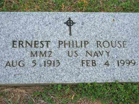 ROUSE (VETERAN WWII), ERNEST PHILIP - Washington County, Arkansas | ERNEST PHILIP ROUSE (VETERAN WWII) - Arkansas Gravestone Photos