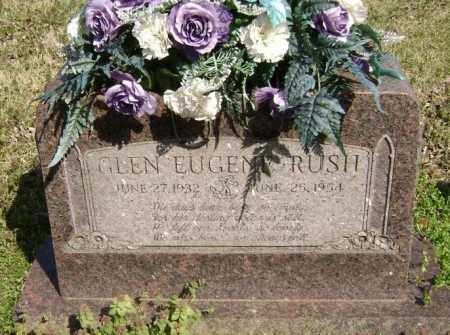 RUSH, GLEN EUGENE - Washington County, Arkansas | GLEN EUGENE RUSH - Arkansas Gravestone Photos