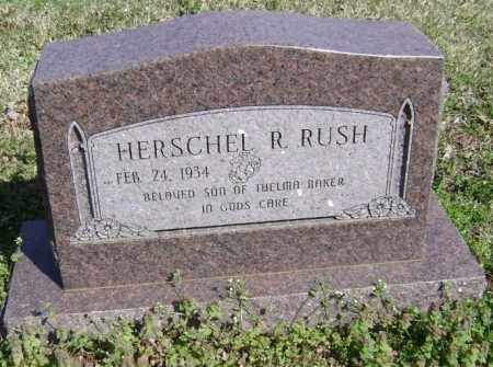 RUSH, HERSCHEL R. - Washington County, Arkansas | HERSCHEL R. RUSH - Arkansas Gravestone Photos