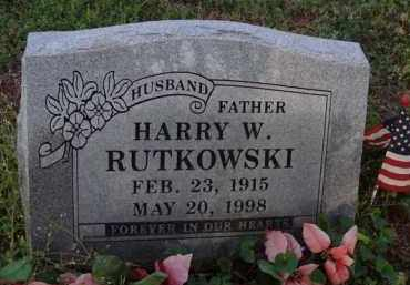 RUTKOWSKI, HARRY W. - Washington County, Arkansas | HARRY W. RUTKOWSKI - Arkansas Gravestone Photos