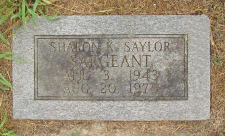 SARGEANT, SHARON K - Washington County, Arkansas | SHARON K SARGEANT - Arkansas Gravestone Photos