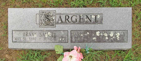 SARGENT, SARAH ELIZABETH - Washington County, Arkansas | SARAH ELIZABETH SARGENT - Arkansas Gravestone Photos