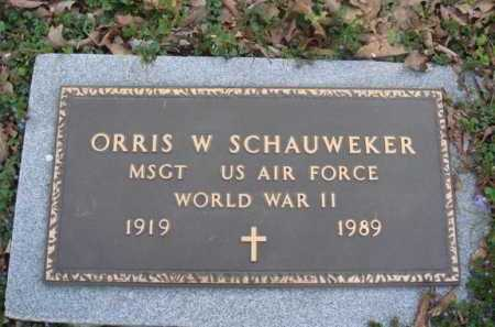 SCHAUWEKER  (VETERAN WWII), ORRIS WAYNE - Washington County, Arkansas | ORRIS WAYNE SCHAUWEKER  (VETERAN WWII) - Arkansas Gravestone Photos