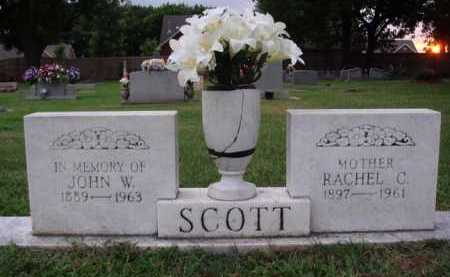 SCOTT, JOHN W. - Washington County, Arkansas | JOHN W. SCOTT - Arkansas Gravestone Photos