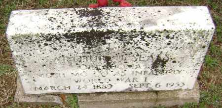 SEALS (VETERAN WWI), ARTHUR U. - Washington County, Arkansas | ARTHUR U. SEALS (VETERAN WWI) - Arkansas Gravestone Photos