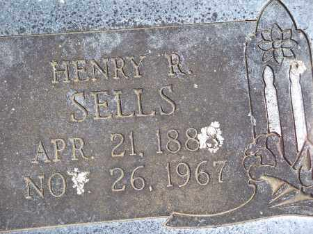 SELLS, HENRY R. - Washington County, Arkansas | HENRY R. SELLS - Arkansas Gravestone Photos