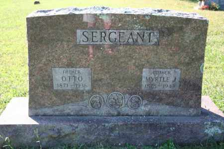 SERGEANT, MYRTLE J. - Washington County, Arkansas | MYRTLE J. SERGEANT - Arkansas Gravestone Photos
