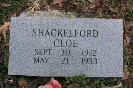 SHACKELFORD, CLOE - Washington County, Arkansas | CLOE SHACKELFORD - Arkansas Gravestone Photos