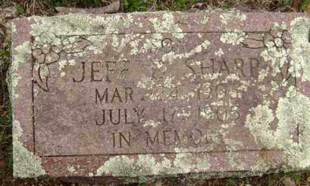 SHARP, JEFF D. - Washington County, Arkansas | JEFF D. SHARP - Arkansas Gravestone Photos