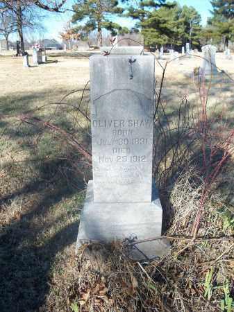SHAW, OLIVER - Washington County, Arkansas   OLIVER SHAW - Arkansas Gravestone Photos