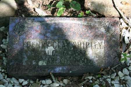 SHIPLEY, HENRY CLAY (ORIGINAL) - Washington County, Arkansas | HENRY CLAY (ORIGINAL) SHIPLEY - Arkansas Gravestone Photos