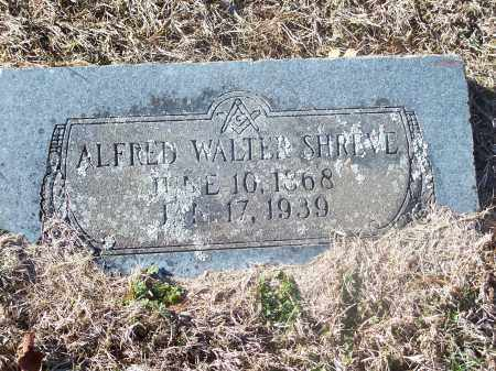 SHREVE, ALFRED WALTER - Washington County, Arkansas | ALFRED WALTER SHREVE - Arkansas Gravestone Photos