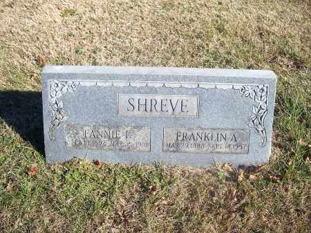 SHREVE, FRANKLIN A. - Washington County, Arkansas | FRANKLIN A. SHREVE - Arkansas Gravestone Photos