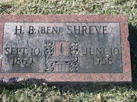 SHREVE, H. B. (BEN) - Washington County, Arkansas | H. B. (BEN) SHREVE - Arkansas Gravestone Photos