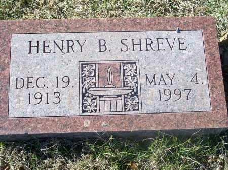 SHREVE, HENRY B. - Washington County, Arkansas | HENRY B. SHREVE - Arkansas Gravestone Photos