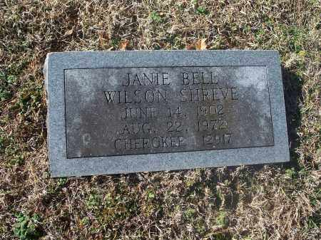 BELL SHREVE, JANIE - Washington County, Arkansas | JANIE BELL SHREVE - Arkansas Gravestone Photos