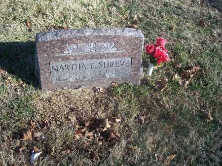 SHREVE, MARTHA E. - Washington County, Arkansas | MARTHA E. SHREVE - Arkansas Gravestone Photos