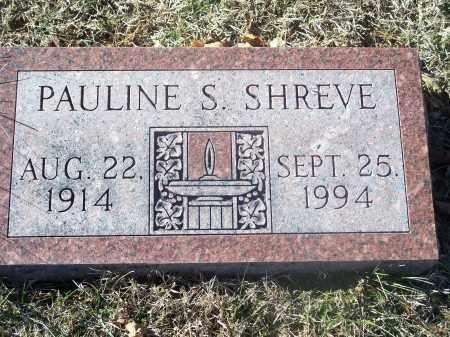 SHREVE, PAULINE S. - Washington County, Arkansas | PAULINE S. SHREVE - Arkansas Gravestone Photos