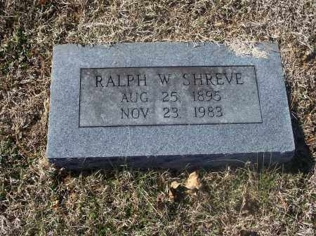 SHREVE, RALPH W. - Washington County, Arkansas | RALPH W. SHREVE - Arkansas Gravestone Photos