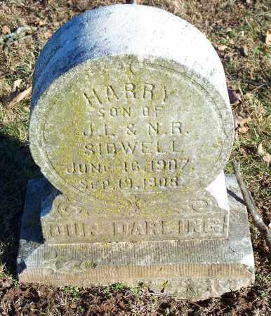 SIDWELL, HARRY - Washington County, Arkansas | HARRY SIDWELL - Arkansas Gravestone Photos