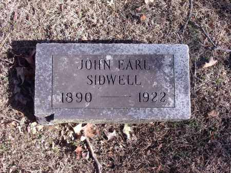 SIDWELL, JOHN EARL - Washington County, Arkansas | JOHN EARL SIDWELL - Arkansas Gravestone Photos