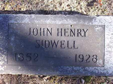 SIDWELL, JOHN HENRY - Washington County, Arkansas | JOHN HENRY SIDWELL - Arkansas Gravestone Photos