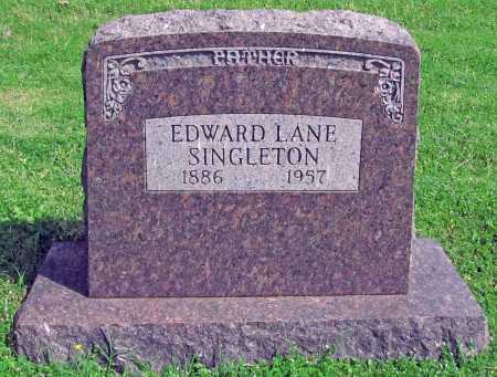 SINGLETON, EDWARD LANE - Washington County, Arkansas | EDWARD LANE SINGLETON - Arkansas Gravestone Photos