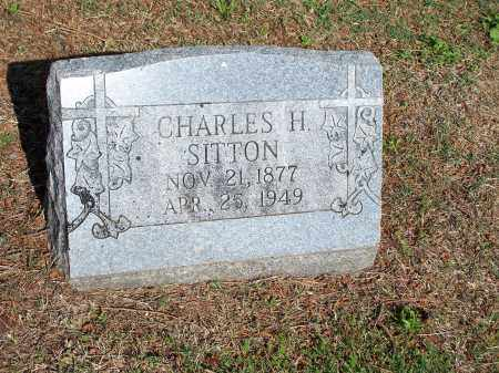 SITTON, CHARLES H. - Washington County, Arkansas | CHARLES H. SITTON - Arkansas Gravestone Photos
