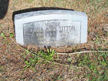 SITTON, DORA ANN - Washington County, Arkansas | DORA ANN SITTON - Arkansas Gravestone Photos
