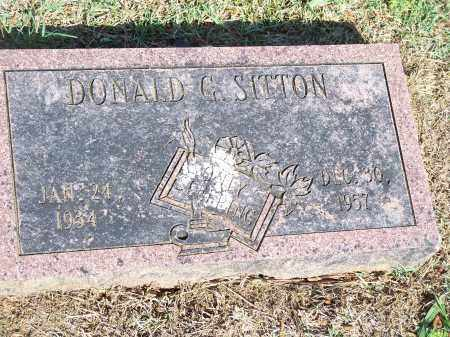 SITTON, DONALD G. - Washington County, Arkansas | DONALD G. SITTON - Arkansas Gravestone Photos