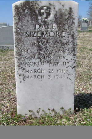 SIZEMORE (VETERAN WWII), DALE - Washington County, Arkansas | DALE SIZEMORE (VETERAN WWII) - Arkansas Gravestone Photos