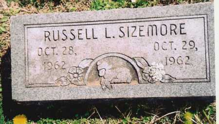 SIZEMORE, RUSSELL L. - Washington County, Arkansas | RUSSELL L. SIZEMORE - Arkansas Gravestone Photos