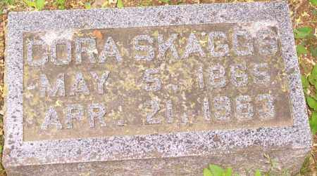 SKAGGS, CORA - Washington County, Arkansas | CORA SKAGGS - Arkansas Gravestone Photos