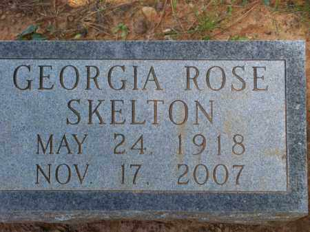 SKELTON, GEORGIA ROSE - Washington County, Arkansas | GEORGIA ROSE SKELTON - Arkansas Gravestone Photos