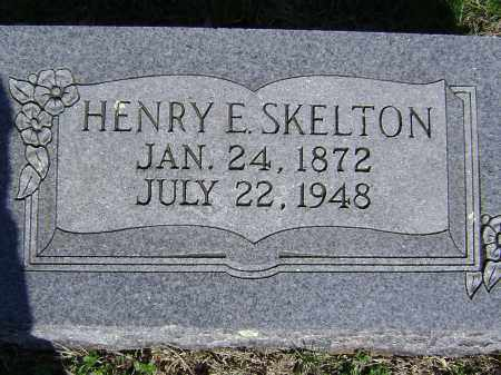 SKELTON, HENRY E. - Washington County, Arkansas | HENRY E. SKELTON - Arkansas Gravestone Photos