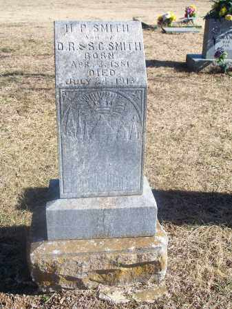 SMITH, H. P. - Washington County, Arkansas | H. P. SMITH - Arkansas Gravestone Photos