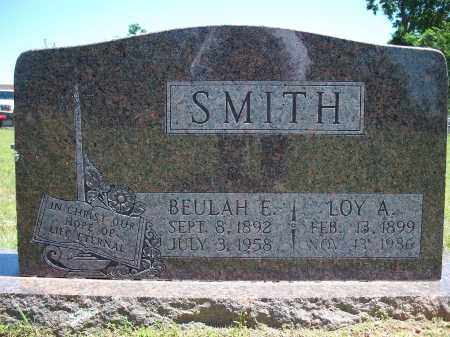 SMITH, LOY A. - Washington County, Arkansas | LOY A. SMITH - Arkansas Gravestone Photos