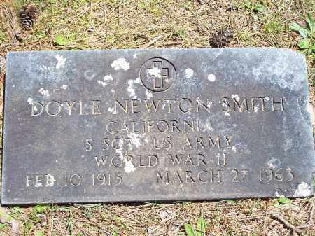SMITH (VETERAN WWII), DOYLE NEWTON - Washington County, Arkansas | DOYLE NEWTON SMITH (VETERAN WWII) - Arkansas Gravestone Photos