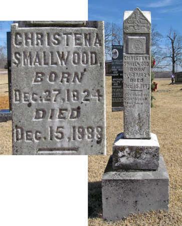 SMALLWOOD, CHRISTENA - Washington County, Arkansas | CHRISTENA SMALLWOOD - Arkansas Gravestone Photos