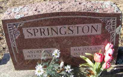 SPRINGSTON, ANDREW P. - Washington County, Arkansas | ANDREW P. SPRINGSTON - Arkansas Gravestone Photos