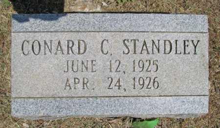 STANDLEY, CONRAD C - Washington County, Arkansas | CONRAD C STANDLEY - Arkansas Gravestone Photos