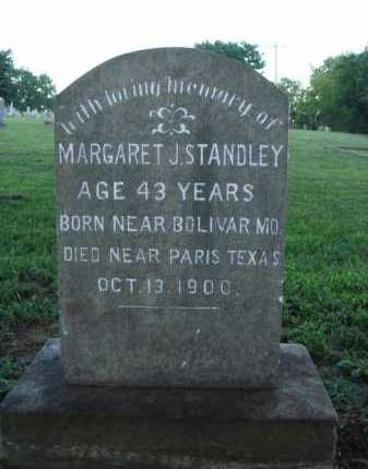 STANDLEY, MARGARET J. - Washington County, Arkansas | MARGARET J. STANDLEY - Arkansas Gravestone Photos