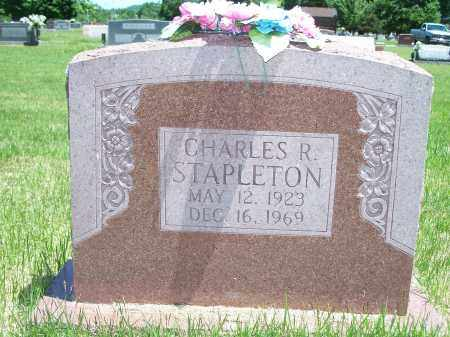 STAPLETON, CHARLES R. - Washington County, Arkansas | CHARLES R. STAPLETON - Arkansas Gravestone Photos