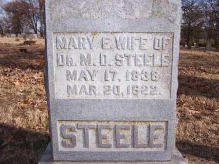 STEELE, MARY E. - Washington County, Arkansas | MARY E. STEELE - Arkansas Gravestone Photos