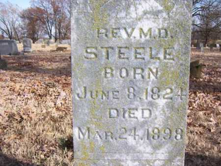 STEELE, M D REV - Washington County, Arkansas | M D REV STEELE - Arkansas Gravestone Photos