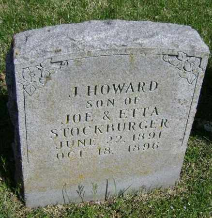 STOCKBURGER, J. HOWARD - Washington County, Arkansas | J. HOWARD STOCKBURGER - Arkansas Gravestone Photos
