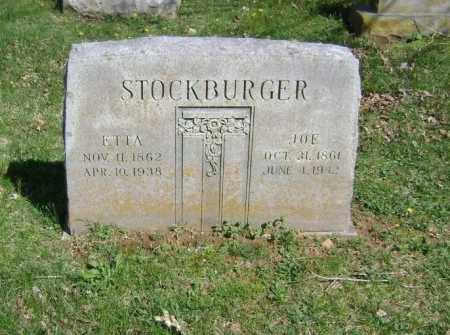STOCKBURGER, ETTA - Washington County, Arkansas | ETTA STOCKBURGER - Arkansas Gravestone Photos