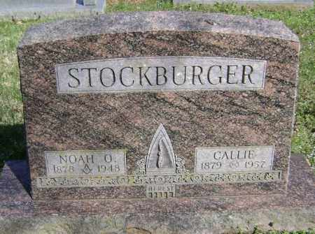 STOCKBURGER, CALLIE - Washington County, Arkansas | CALLIE STOCKBURGER - Arkansas Gravestone Photos