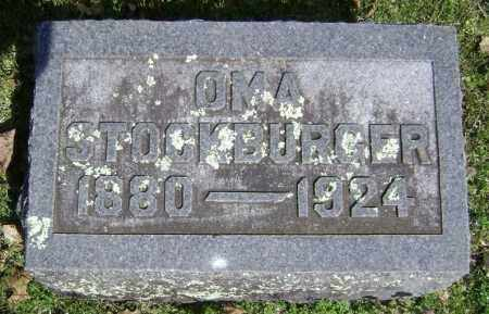 STOCKBURGER, OMA - Washington County, Arkansas | OMA STOCKBURGER - Arkansas Gravestone Photos